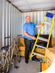 Container Storage for Personal effects