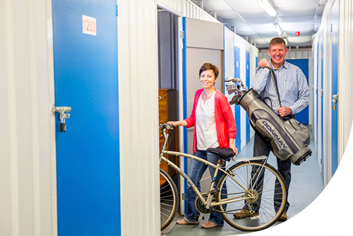 self storage for bicycles