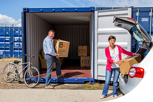 container storage for household possessions