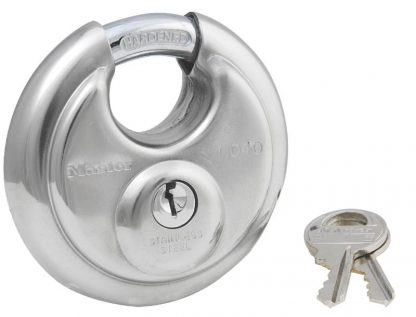 Circular steel lock